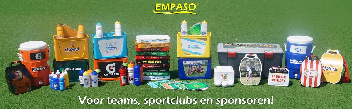 EMPASO EUROPE - Sport & sponsoring producten
