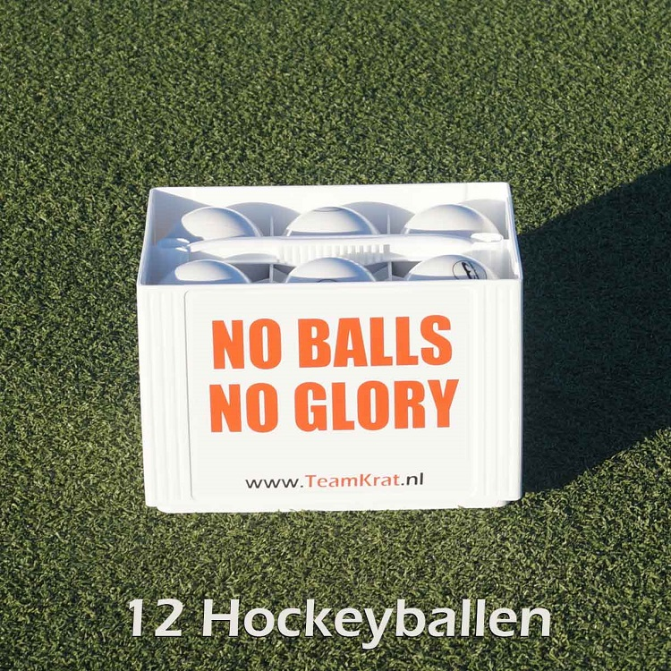 EMPASO Hockey Ballenkrat 12 hockeyballen