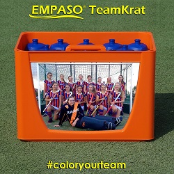 Bidon TeamKrat - Bidonkrat met 12 bidons - Bedrukten bidonkratten