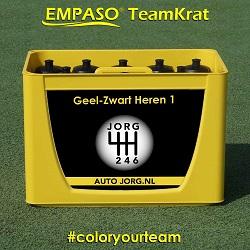 Bidon TeamKrat - Bidonkrat met 12 bidons - Bedrukten bidonkratten  ColorYourTeam