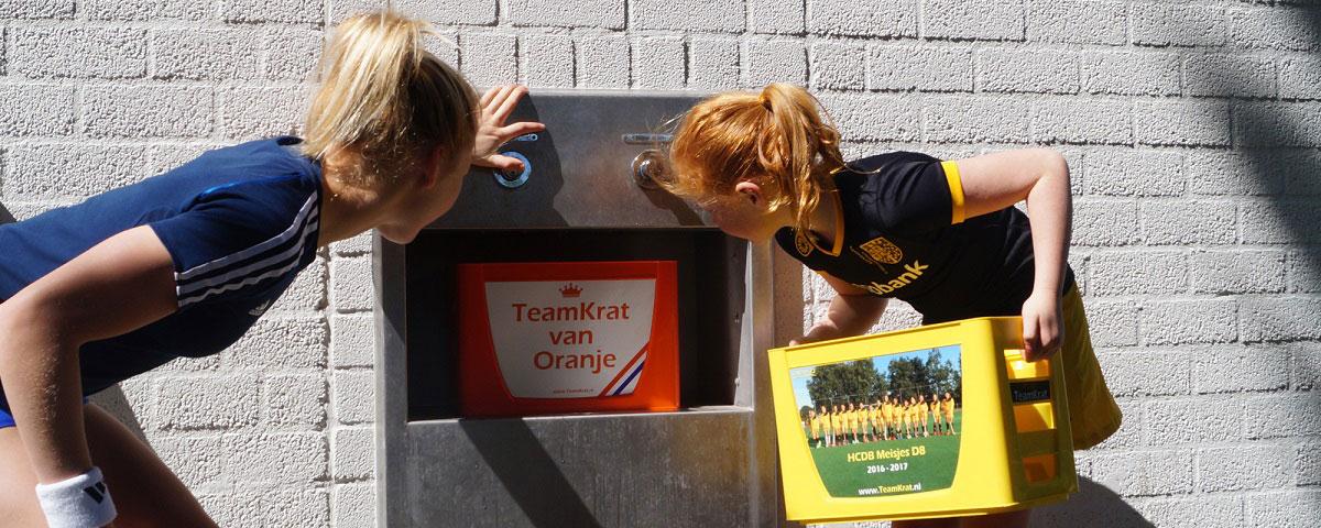 EMPASO TeamTap - Bidonkrat Watertappunt