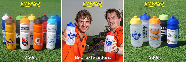 EMPASO TeamKrat - bidonkrat - bedrukte bidons