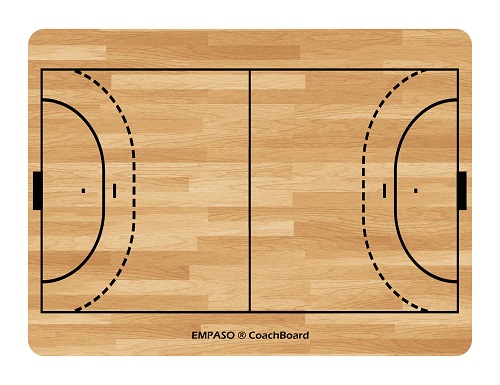 EMPASO TeamKrat opties - CoachBoard handbal coachbord