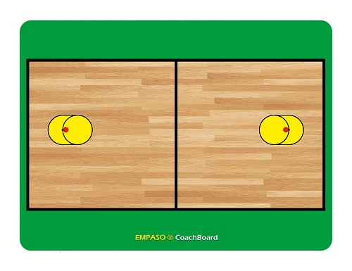 EMPASO TeamKrat opties - Coachboard Korfbal