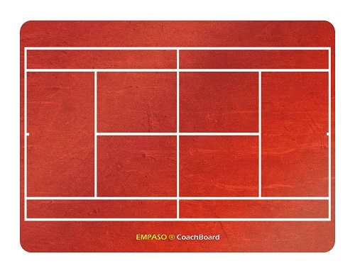 EMPASO TeamKrat opties - CoachBoard tennis coachbord