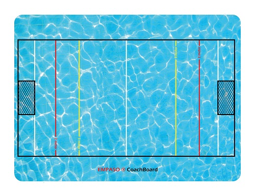 EMPASO TeamKrat opties - CoachBoard waterpolo coachbord