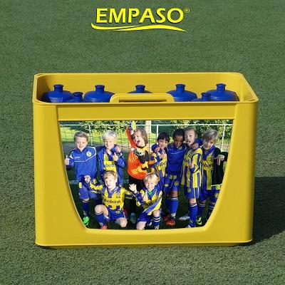 EMPASO TeamKrat - gepersoanliseerd bidonkrat 12 bidons