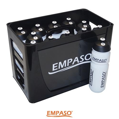 EMPASO TeamKrat Black & White - bidonkrat speciale aanbieding