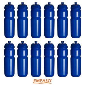 EMPASO Set 12 bidons - TeamKrat - BidonKrat - Bidons Donkerblauw
