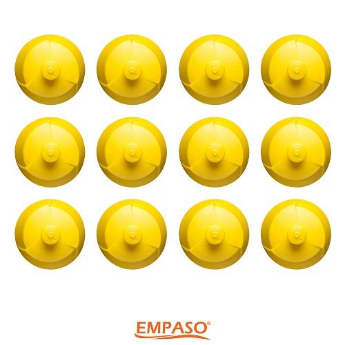 Bidondoppen geel