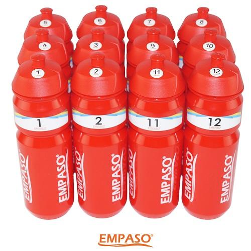 EMPASO TeamKrat accessoires - Set Bidonnummers 1-12