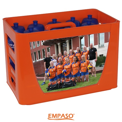 EMPASO TeamKrat bidonkrat 12 bidons bidonkratten bedrukken